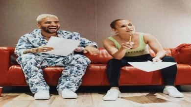 صورة جنيفر لوبيز ومالوما يكشفان عن مفاجأتهما لجمهورهما