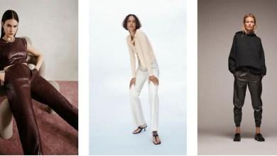 """صورة """"ZARA"""" تقدم تشكيلات لبنطلون الجلد لموسم خريف 2020 -صور"""