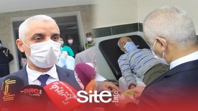 صورة وزير الصحة يكشف السبب الحقيقي لإعادة قنينات لقاح كورونا الفارغة إلى المستودعات -فيديو
