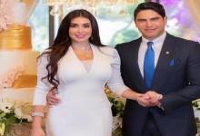 صورة ياسمين صبري تحتفل بعيد زواجها رفقة أبو هشيمة -صورة