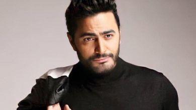 """صورة تامر حسني يوجه رسالة لبطلة مسلسل """"بنات العساس""""- صور"""