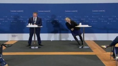 صورة خلال مؤتمر حول إلغاء لقاح أسترازينيكا.. رئيسة وكالة الأدوية تتعرض للإغماء