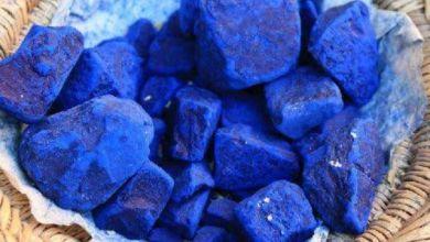 صورة وصفات النيلة الزرقاء للوجه