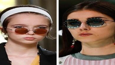 صورة النظارات الدائرية الأكثر رواجا في موضة صيف 2021 -صور