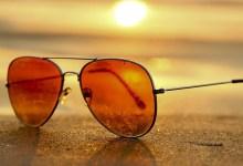 صورة نظارات شمسية ملونة لصيف 2021 -صور