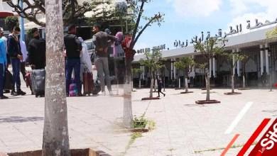 صورة هذا تاريخ إعادة فتح محطة أولاد زيان بالبيضاء