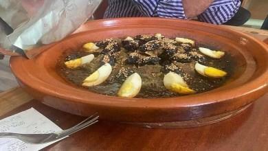 """صورة """"طجين اللحم"""" بـ 560 درهما يثير غضب مواطنين مغاربة"""
