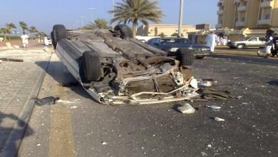 صورة فاجعة.. وفاة 8 أفراد من عائلة واحدة في حادث سير
