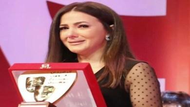 صورة مؤثر.. أول ظهور رسمي لدنيا سمير غانم بعد وفاة والديها