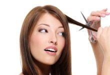 صورة أضرار قص الشعر بطريقة خاطئة