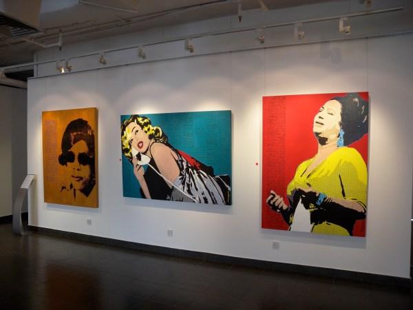 Pop Art Duo Hamad Al-saab & Ali Sultan Ghaliyah