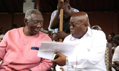Go Back: Your Work Is Incomplete - President Kufuor Fingered In A Ghanaian At Goldman Sachs' Story