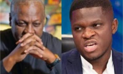 John Mahama and Sammy Gyamfi