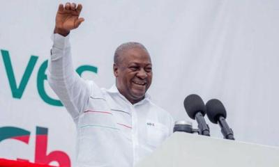 NDC Is The Best Political Party In Ghana - John Mahama