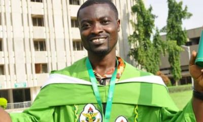 The Story of How A Phone Repairer Became A KNUST Graduate