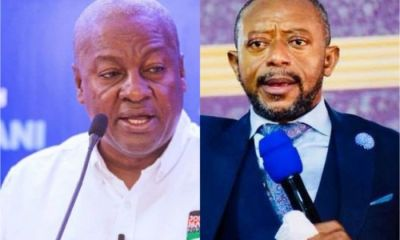 I Visited Heaven And God Told Me That NDC Will Stay In Power For 16-Years If Mahama Wins 2024 Polls – Popular Prophet