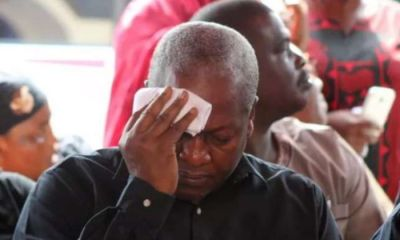 Mahama Cries Every Night Because He Wants The Opportunity To Fix Ghana - Akamba