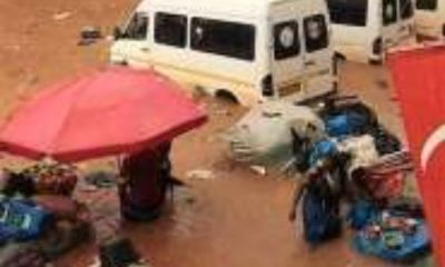 Parts of Kumasi, Accra, Obuasi, Techiman, And Wenchi Flooded After Thursday Morning Downpour