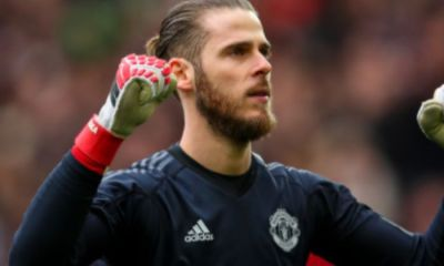 Manchester United Goalkeeper, David de Gea Celebrates His 10 Years Stay At United
