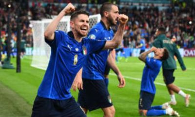 Football Finally Goes To Rome As Italy Thrash England At Wembley On Penalties - Watch Penalties