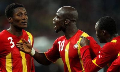 Today in history: 11 Years Ago, 'Baby Jet' Asamoah Gyan Missed A Critical Penalty Against Uruguay (Photos)