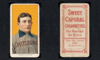 Honus Wagner Card Sells For $6.6 Million, The Third Record Baseball Card Sale In A Year