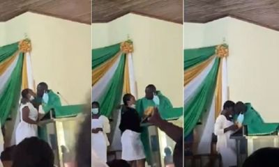 Anglican Bishop Who Kissed Students At Church Service Finally Speaks For The First Time