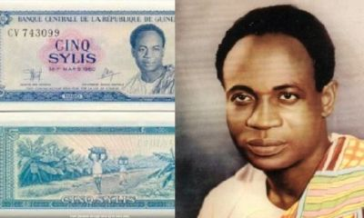Photos Of Dr Kwame Nkrumah On Guinea Currency Surface Online