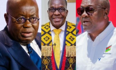I've Never Hanged His Picture In My Office In Replace Of My Boss - Alban Bagbin Denies Mahama