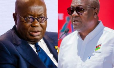 I Urge You To Call For A Youth Employment Summit - Mahama Tells Akufo-Addo