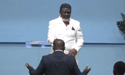 Bishop Charles Agyinasare Anoints Sam George To Fight LGBTQI+