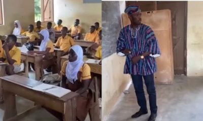 Video Of NDC MP For Wa West Teaching Student Mathematics In The Classroom Hits Online