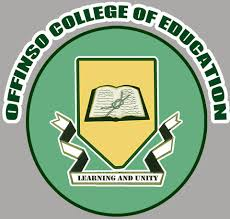 Offinso College of Education Admission Form