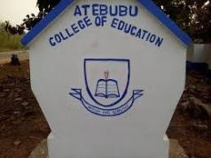 Atebubu College of Education Cut Off Points