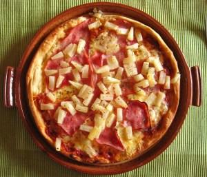 Chicago's deep-dish pizza