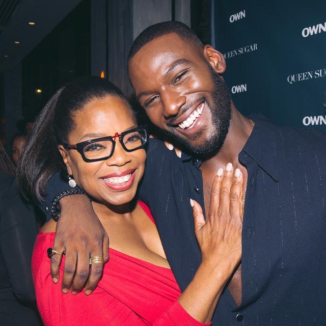 Kofi Siriboe with Oprah