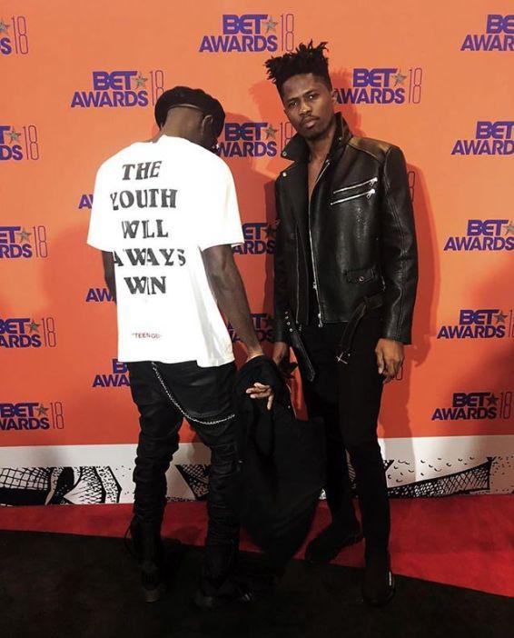 Kwesi Arthur at 2018 BET Awards