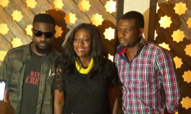 Sarkodie, Catherin Afeku and Mark Okraku Martey