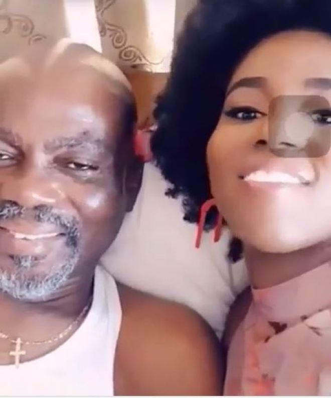 MzVee with father