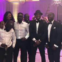 Peter Okoye at Sarkodie's wedding