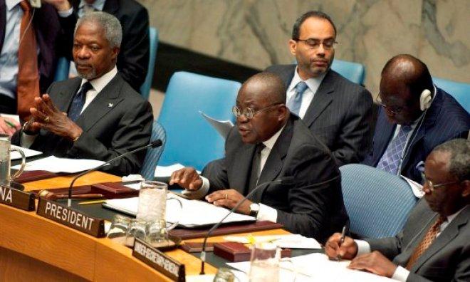 Kofi Annan and Nana Akufo-Addo