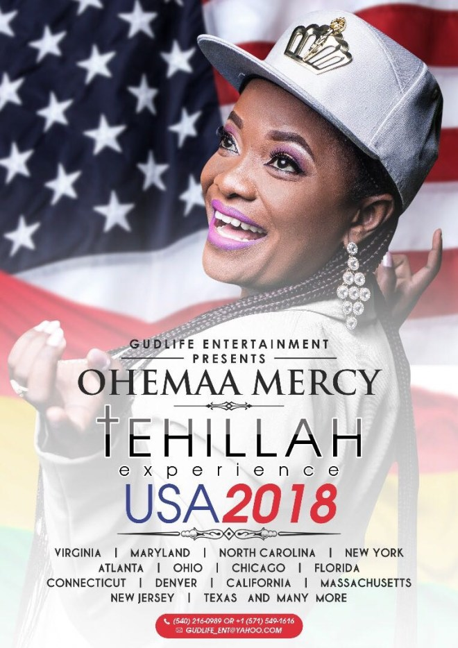 Ohemaa Mercy's Tehillah Experience in USA
