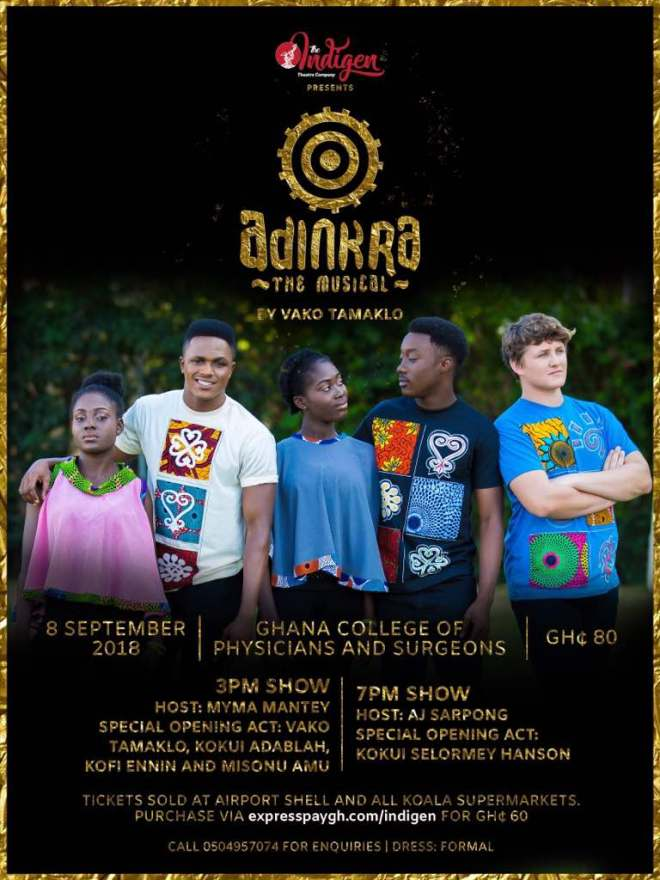 Adinkra the musical to unearth new talents September 8