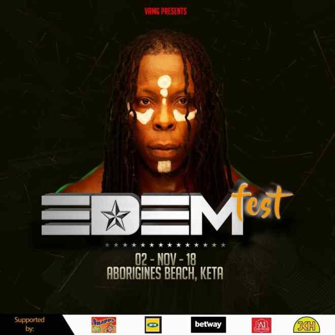 Edemfest 2018 poster