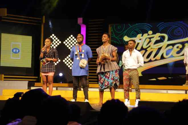 Judges save Amakye, Kay Jay on MTN Hitmaker 7