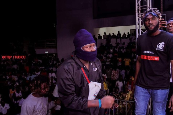 Medikal performing at Total Shutdown Concert