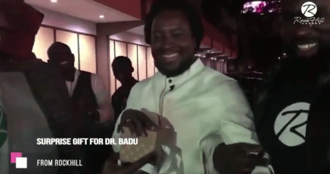 Sonnie Badu receives surprise car from church