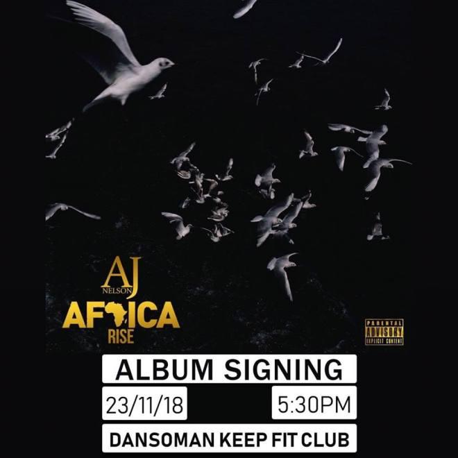 AJ Nelson to launch Africa Rise album November 23