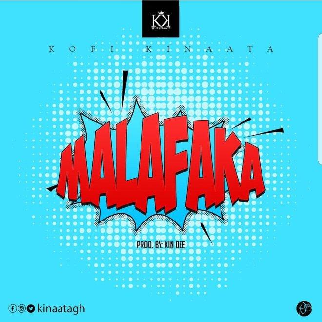 Kofi Kinaata's Malafaka cover artwork
