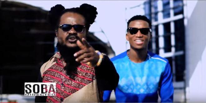 Ras Kuuku and Kofi Kinaata in Wo Remix video